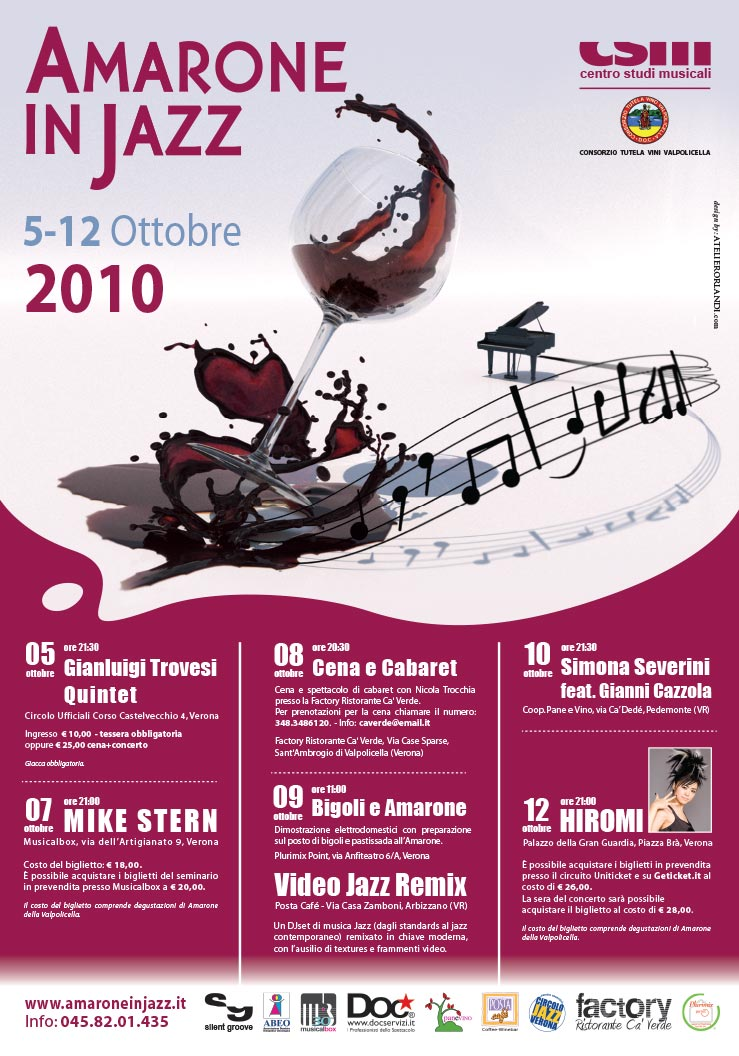 Amarone in Jazz 2010