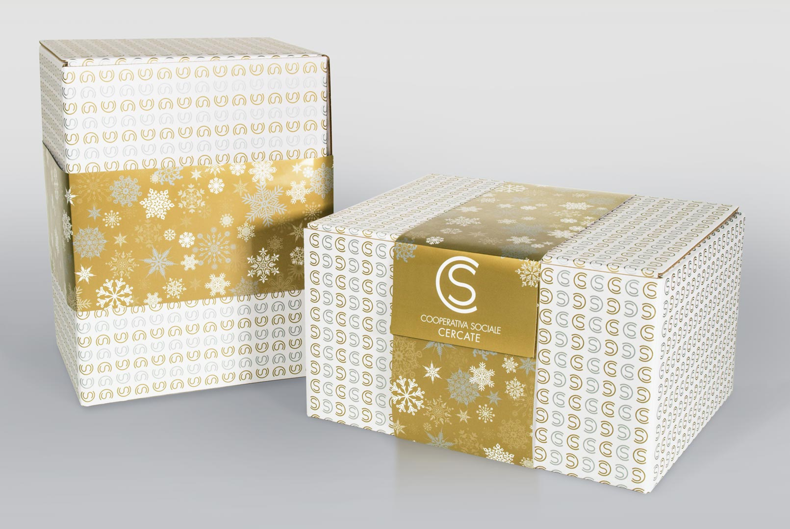 Cercate - Packaging Natale