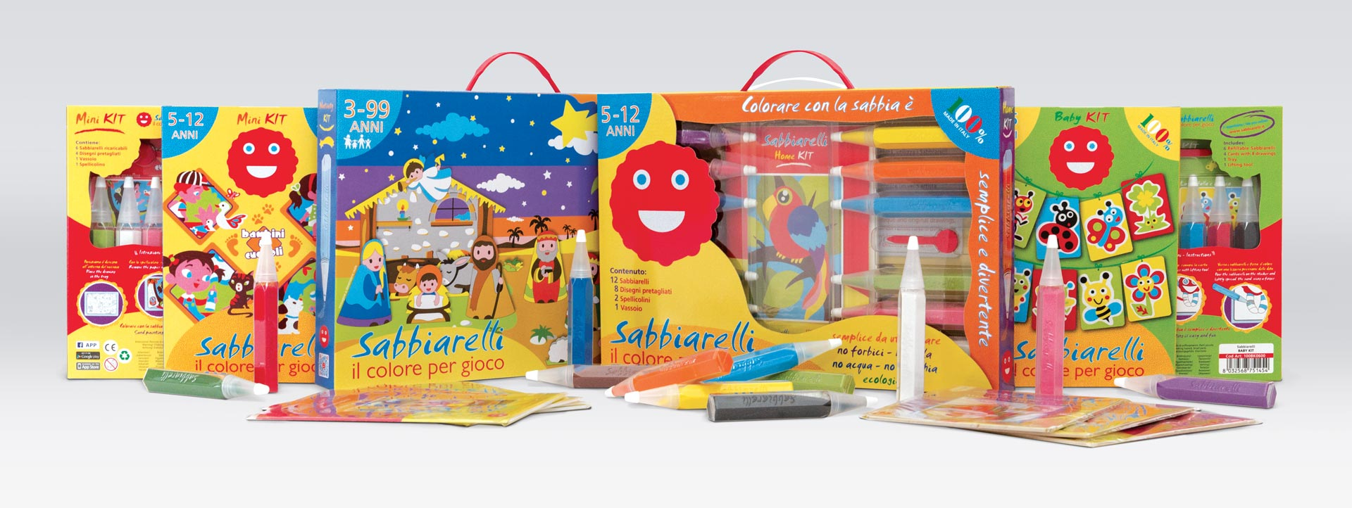 Sabbiarelli - Packaging